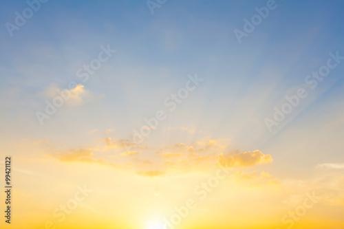 Fototapety, obrazy: sunset sky