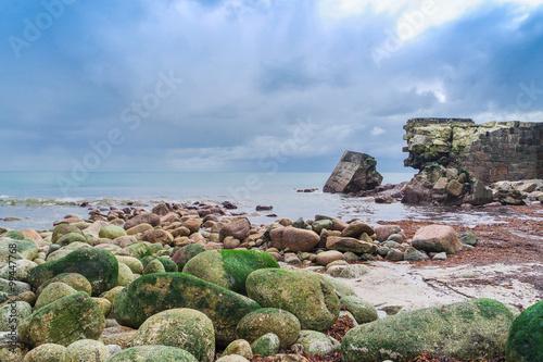 Foto  Dramatische Küste