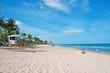 Torretta di guardia, bagnino, sole, relax, spiaggia di Fort Lauderdale, Contea di Broward, Florida, America, Usa Florida, America, Usa Florida, America, Usa