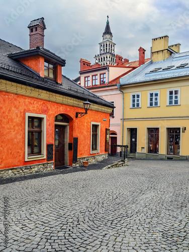 Fototapeta stare miasto w Bielsku-Białej