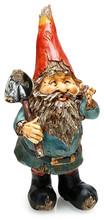 Adorable Wooden Garden Gnome W...