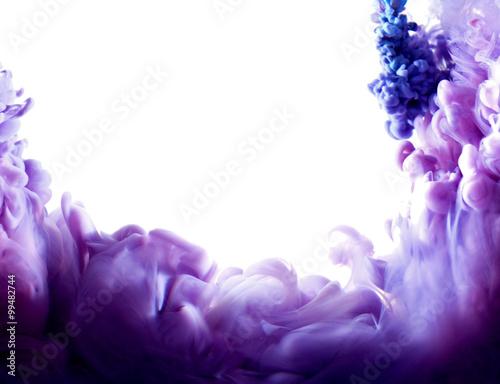 purple abstract art Obraz na płótnie
