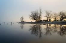 Sunrise Through The Fog Creati...