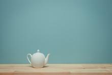 Vintage Tone Of Tea On Table