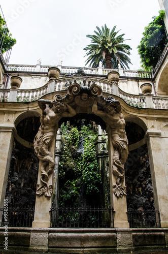 Spoed Foto op Canvas Artistiek mon. Monumento Genova