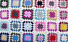 Blanket Made Of Granny Squares