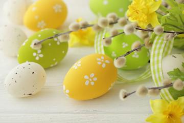 Fototapeta Wielkanoc easter eggs