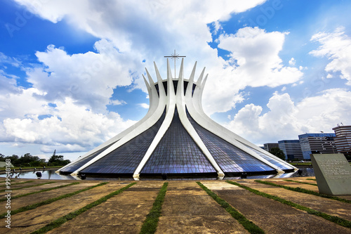 Fotografie, Obraz  Cathedral of Brasilia, capital of Brazil.