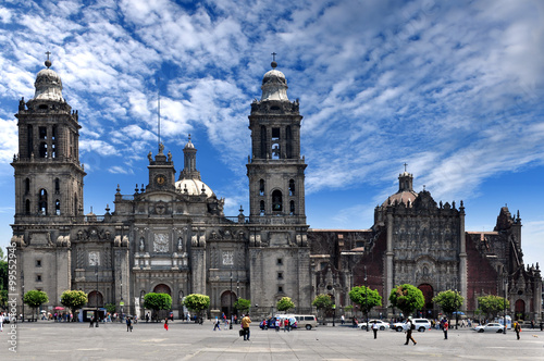 Fotografía  Mexico City, Metropolitan Cathedral of the Assumption of Mary of Mexico City