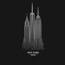 New York Skyscraper Icon  1