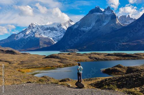 Fotografie, Obraz  Parque Nacional Torres del Paine, Chile
