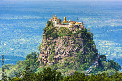 Photo  Mt. Popa, Mandalay Division, Myanmar.