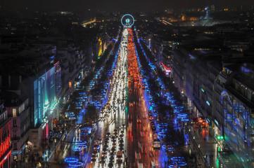 FototapetaParis by night, France