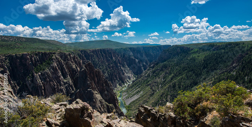 Poster Parc Naturel Black Canyon of the Gunnison, Colorado