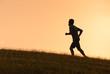 Male runner.