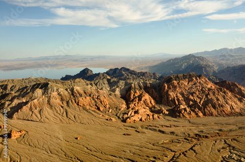 Nevada's desert near Las Vegas, USA Poster