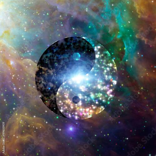 Vászonkép  Yin Yang Celestial