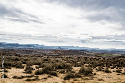 Bardenas desert Canvas Print