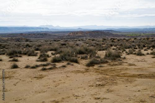 Bardenas semi-desert Canvas Print