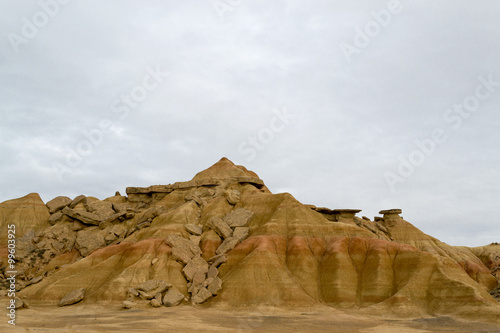 Fotografia  Rocks in Bardenas