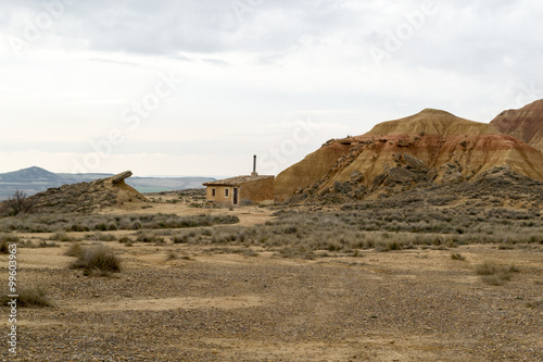 Fotografia  Living in Bardenas