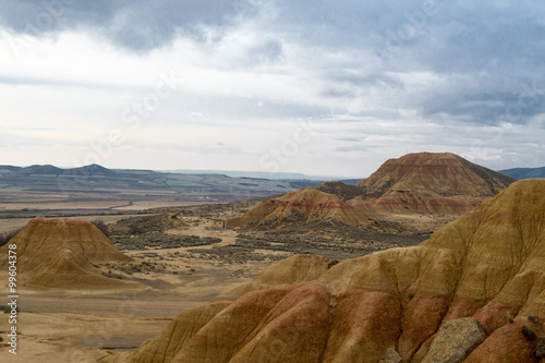 Photo  Views of the Bardenas Reales