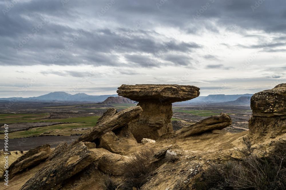 Fotografie, Obraz High tock in Bardenas Reales