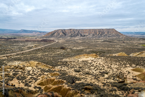 Photo Plateau in Bardenas Reales