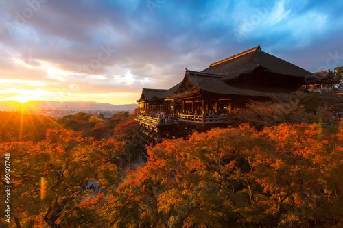 Poster Kyoto Kiyomizu-dera Temple
