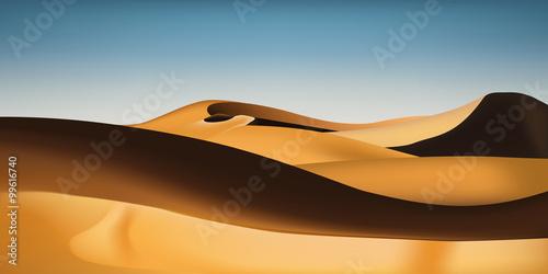 Photo  Désert de sable - Sahara