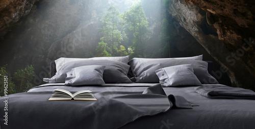 Obraz na dibondzie (fotoboard) Nowoczesny design badroom (3d render)