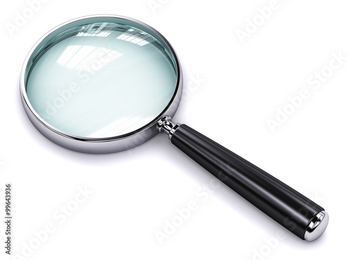 Fotografie, Tablou  Magnifying glass
