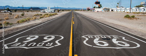 Canvas Prints Route 66 Route 66