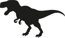 Dinosaur Tyrannosaurus Silhoue...