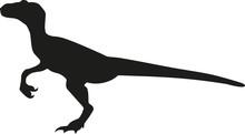 Dinosaur Velociraptor Silhouette