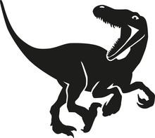 Dinosaur Velociraptor Hunting