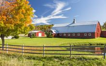 Catskills Barn And Pond