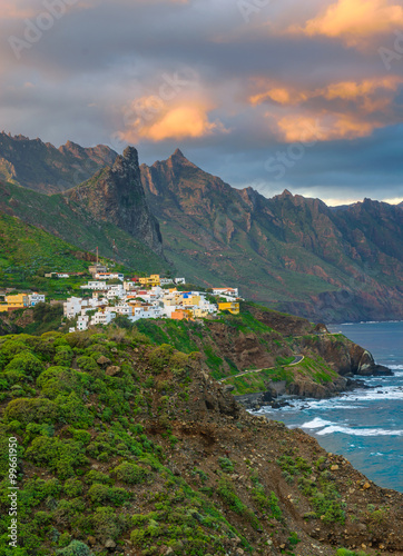 Almaciga Village in Tenerife, Canary Islands, Spain Fotobehang