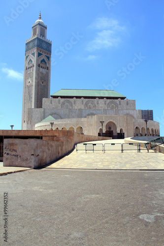 Poster  Mosque Hassan ll. in Casablanca, Morocco