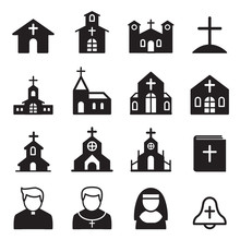 Church Icon Silhouette