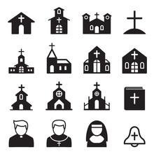 Church Icon Silhouette