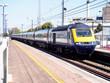Local train in UK