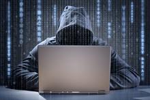 Computer Hacker Stealing Data ...