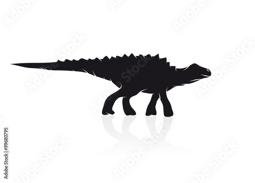 Edmontosaurus Dinosaurier Poster