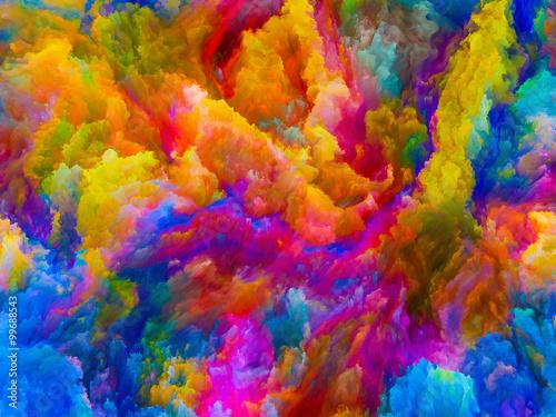 Fototapety, obrazy: Digital Life of Colors