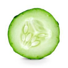Cucumber Slice Closeup