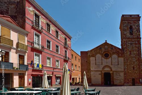 Fotografie, Obraz  Sardinien - Piazza Municipio Iglesias