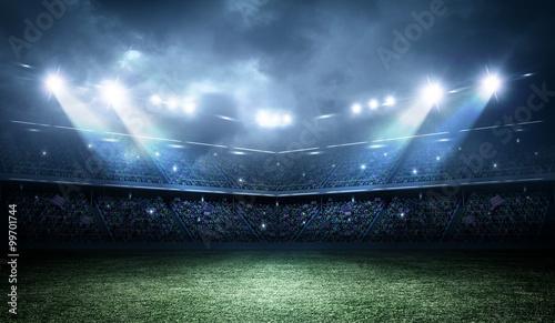 Obraz Stadion piłkarski - fototapety do salonu