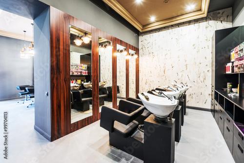 Fotografia  Interior of luxury beauty salon