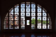 The Historic Registry Room On Ellis Island